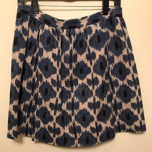 Michael Kors Blue Skirt